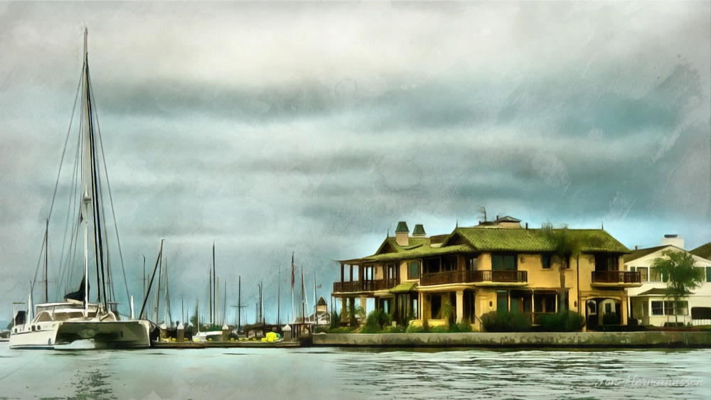 balboa house and boat